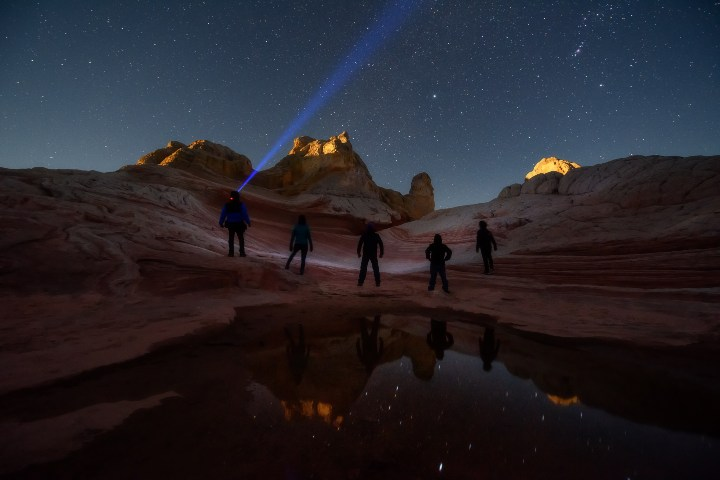 Noche estrellada en Arizona. Foto: JT ASTK