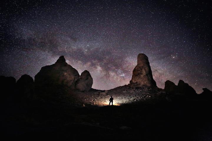 Observación de estrellas. Foto: JT ASTK