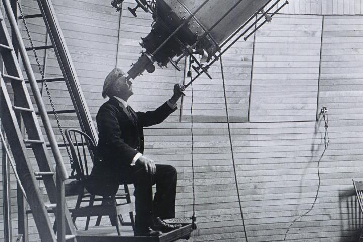 Telescopio en Observatorio Lowell. Flagstaff. Foto: Oficina de visitantes