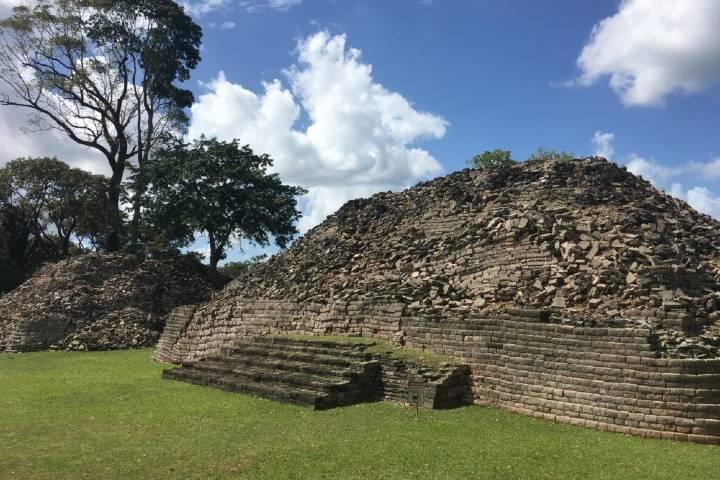 Ruinas de Labaantún. Foto por planifica tu viaje.
