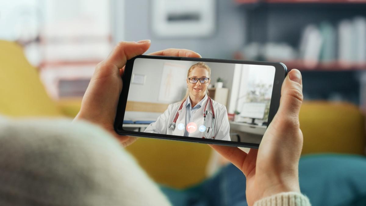 Autogestión Médica Mobile App Foto JT STCK