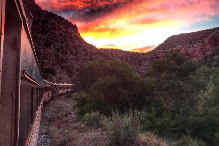 Verde canyon railroad. Foto Starlight