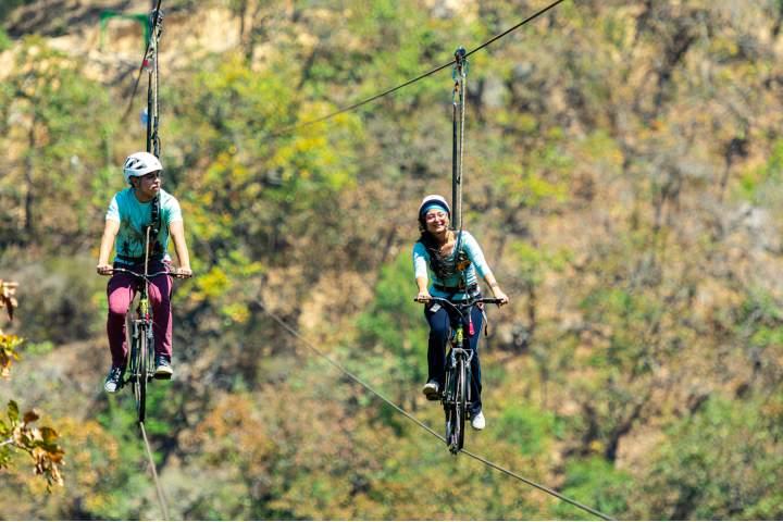 Bike Flight. Foto por El Jorullo Paradise.