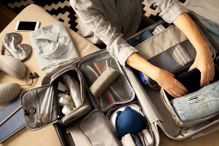 Cosas que no pueden faltar en la maleta. Organizador de viaje Foto JT ASTK