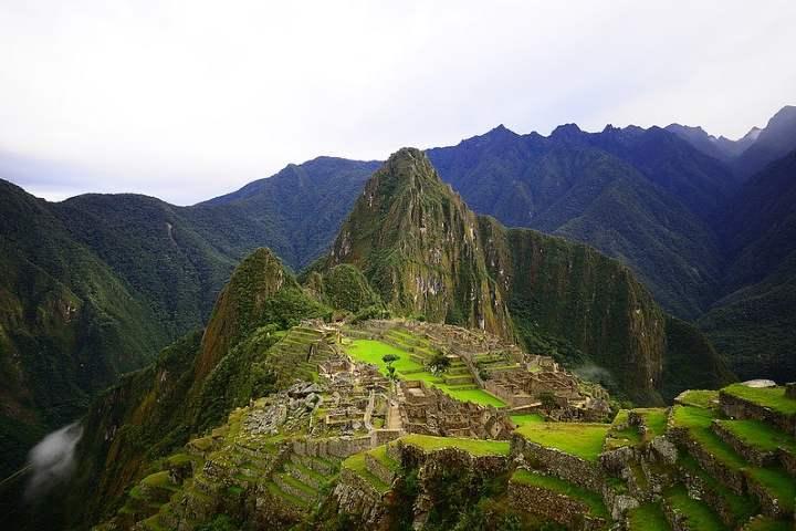 Bienvenido a tierras Incas. Foto por Thibault Hospic.