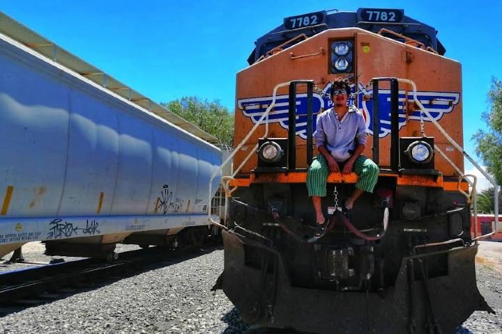 El Tren La Bestia - Foto Luis Juárez J.