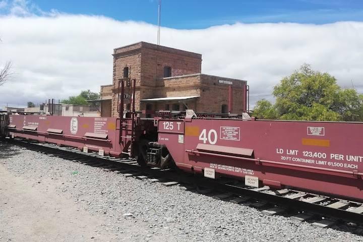 Estación Wadley SLP - Foto Luis Juárez J.