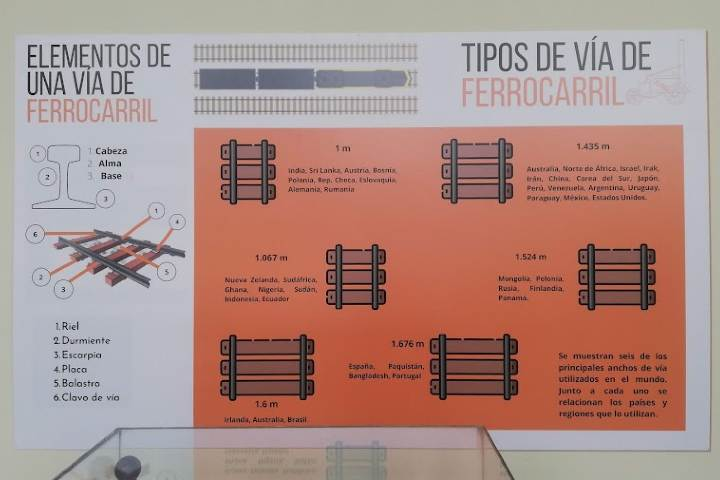 Información sobre trenes - Foto Luis Juárez J.