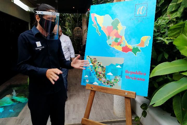 Mapa de México. Foto: El Souvenir
