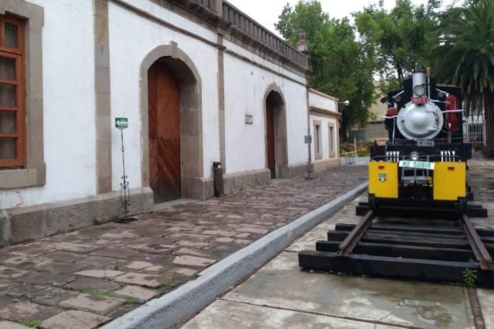 Museo de los Ferrocarrileros La Villa - Foto Luis Juárez J.