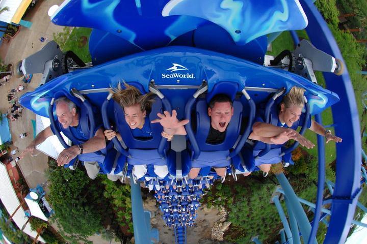 ¿Que tal un poco de adrenalina?. Foto por Ted Murphy.