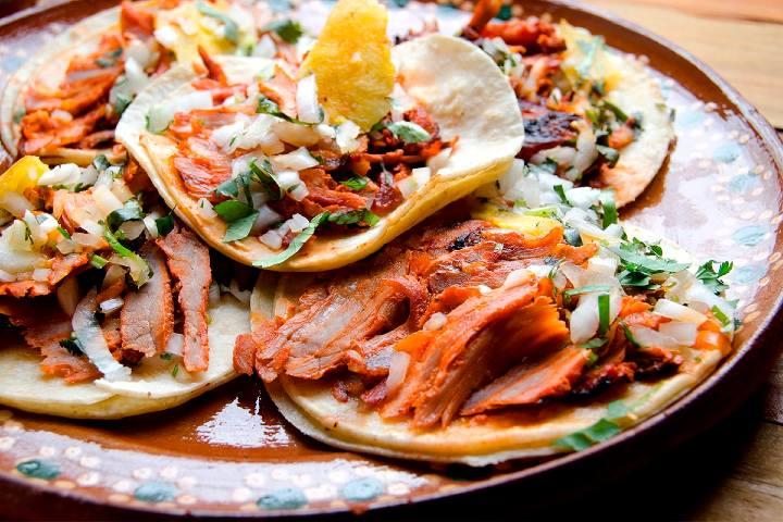 Tacos al pastor. Foto: 10 Experiences