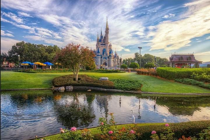 La magia se vive en Disney World. Foto por Lain.