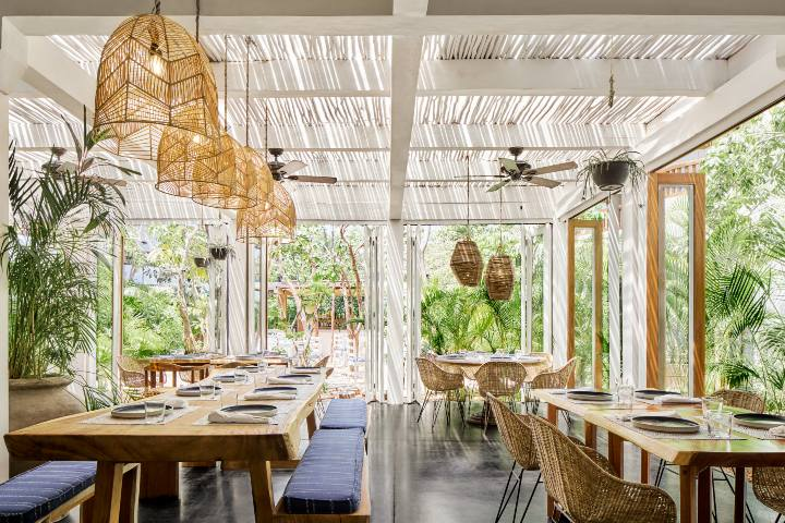 Restaurante Parallel 20º Kimpton Aluna Tulum. Foto KAT